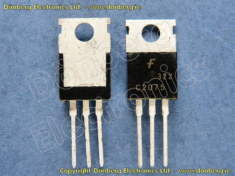 Semiconductor: 2SC2075 (2SC 2075) - SILICON NPN TRANSISTOR