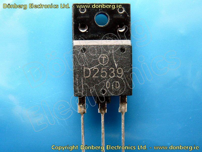 Semiconductor 2sd2539 2sd 2539 Transistor Silicon Npn