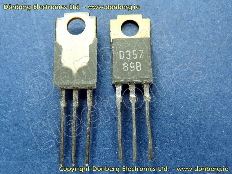 Semiconductor 2sd357 2sd 357 Transistor Silicon Npn