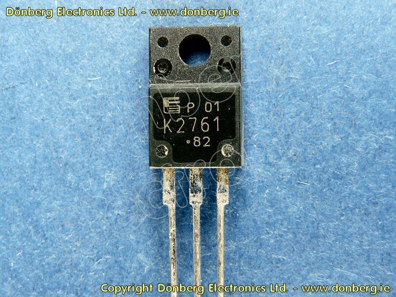 Semiconductor 2sk2761 2sk 2761 N Fet 600v 9a