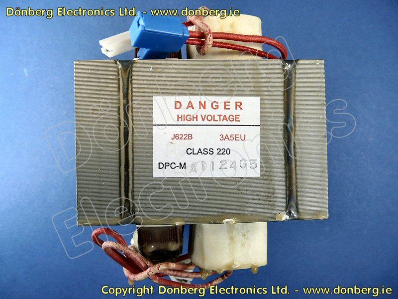 Microwave Ovens A622a3a50eu High Voltage Transformer