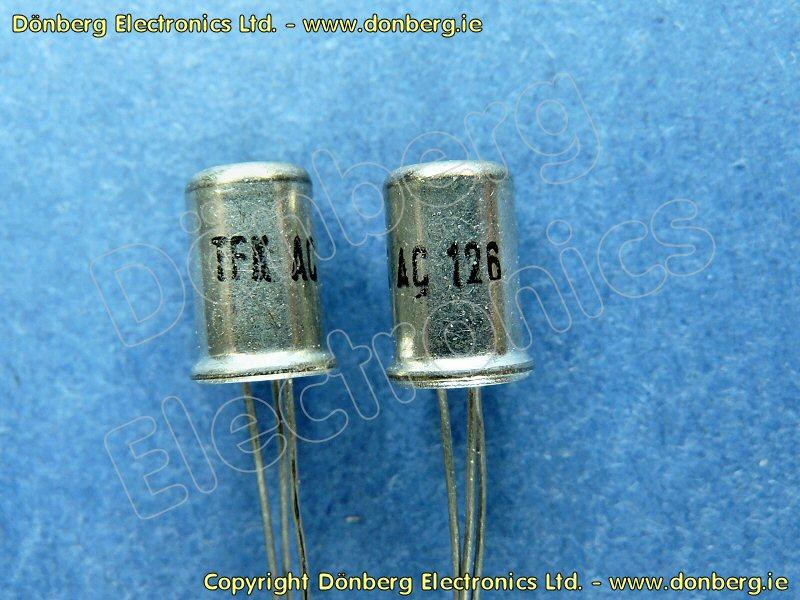 Ac Unit Prices >> Semiconductor: AC126 (AC 126) - TRANSISTOR...