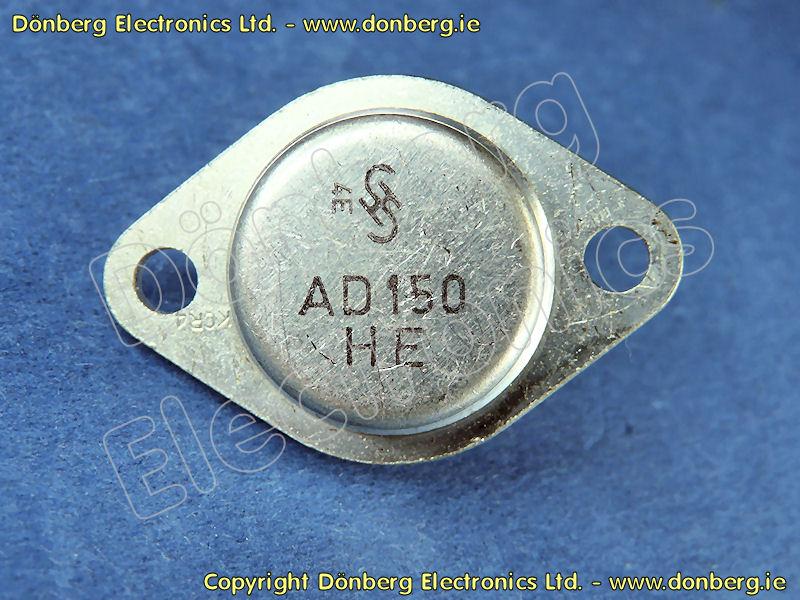 Semiconductor Ad150 Ad 150 Germanium Pnp Transistor