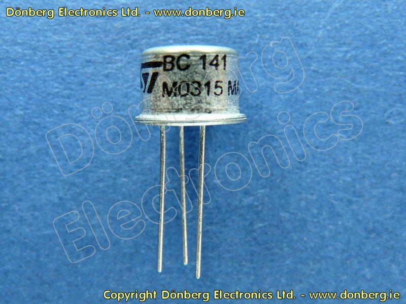 Semiconductor: BC141 (BC 141) - TRANSISTOR SILICON NPN