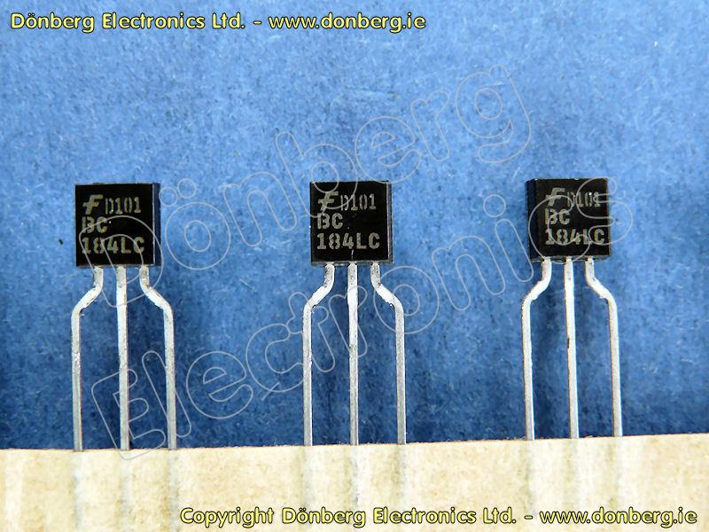 Semiconductor Bc184l Bc 184l Silicon Npn Small Signal