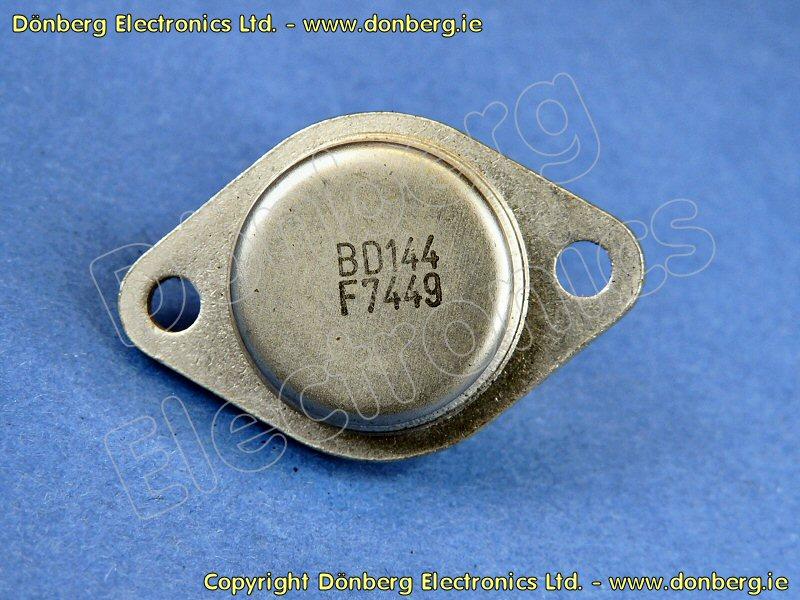 Semiconductor Bd144 Bd 144 Transistor Silicon Npn
