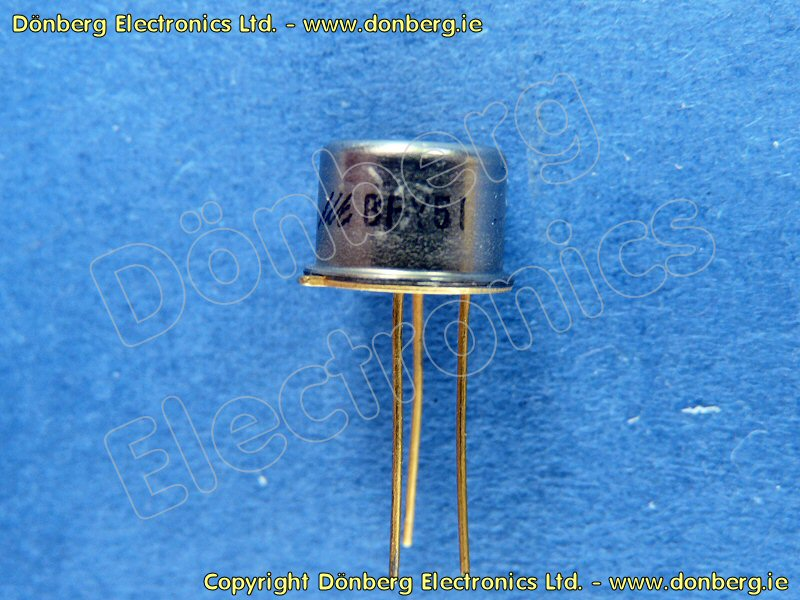 Semiconductor Bfy51 Bfy 51 Transistor Silicon Npn