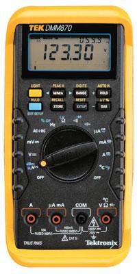 Test Equipment Tek Dmm870 Tektronix Multimeter