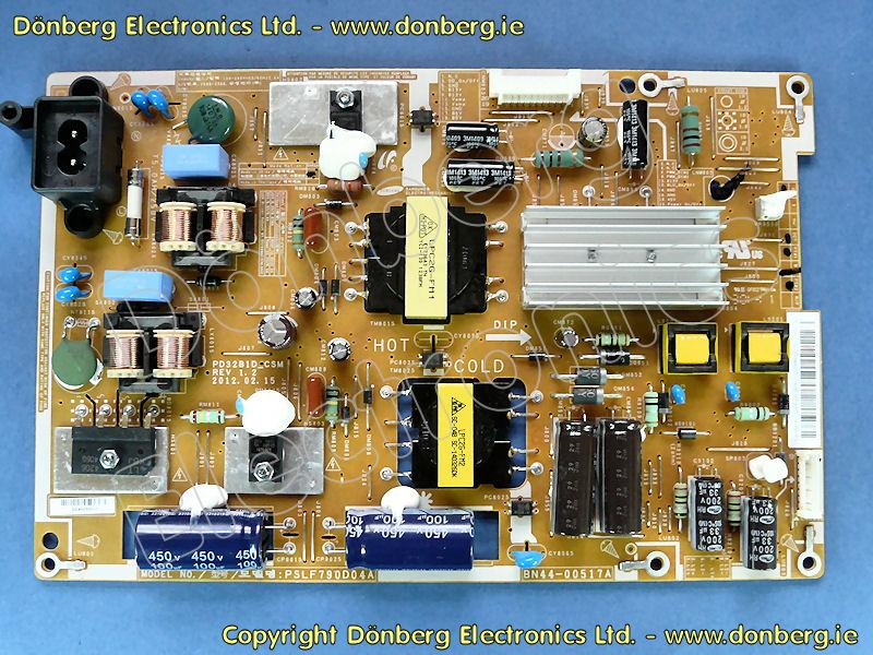 Tv Monitor Spare Bn44 00517a Dc Vss Pd Board Samsung
