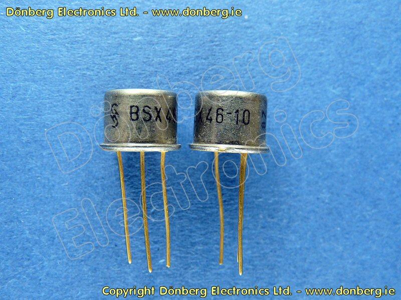 Semiconductor Bsx46 10 Bsx 46 10 Npn Medium Power