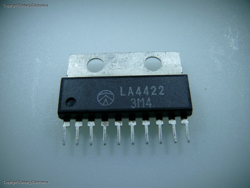 Inverters For Sale >> Semiconductor: LA4422 (LA 4422) - 5.8W POWER AMPLIFIER...