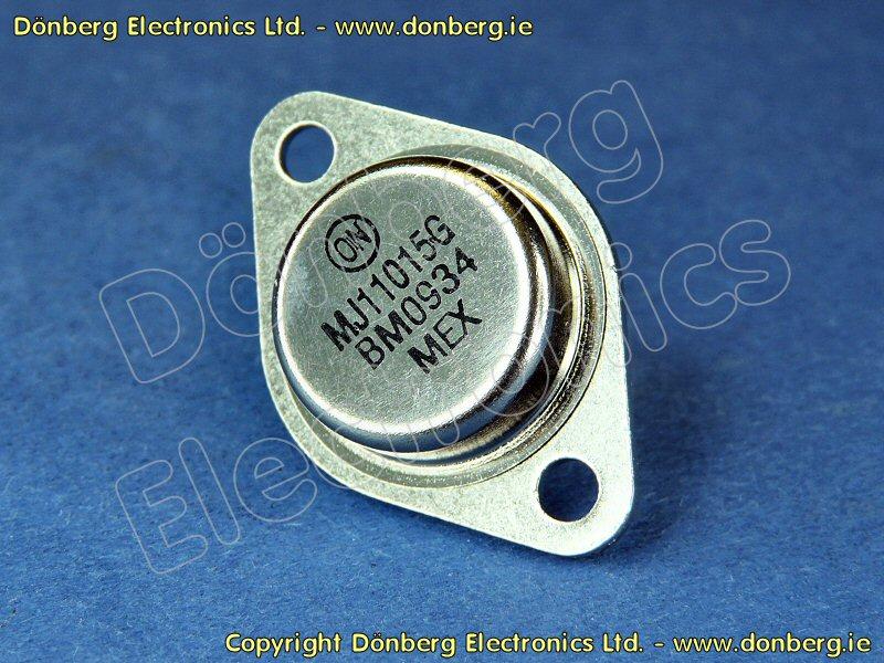 Inverters For Sale >> Semiconductor: MJ11015 (MJ 11015) - TRANSISTOR SILICON PNP / 120V / 30A / 200W...