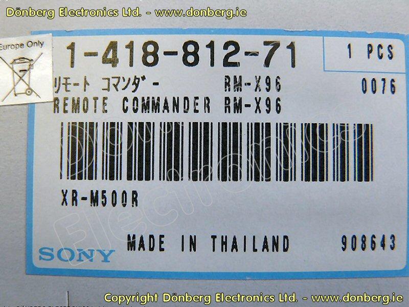 Sony Xr C2200 Wiring Diagram - Page 5 - Wiring Diagram And Schematics
