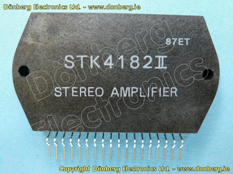 Semiconductor Stk4182ii Stk 4182ii Dual Power