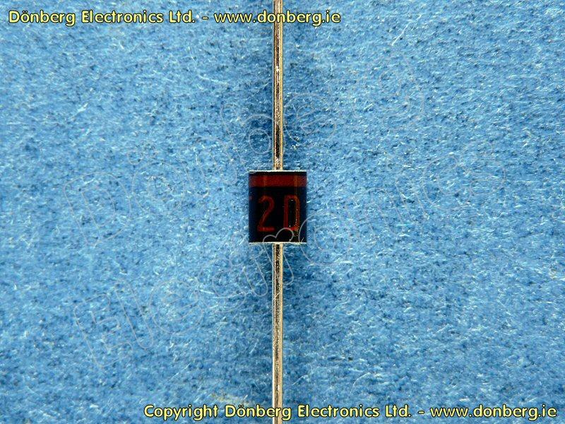 Semiconductor: T2D (T 2D) - ZENER DIODE PANASONIC TXP37X20L