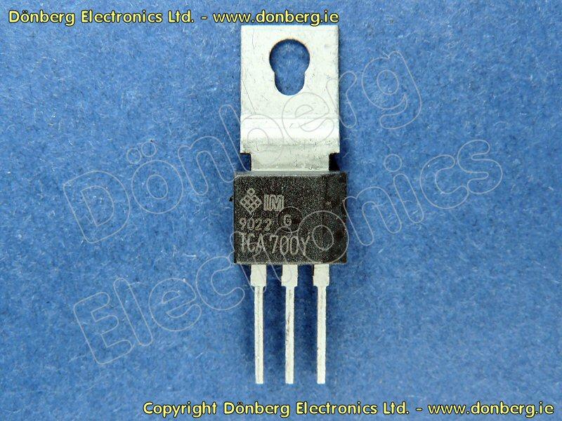Semiconductor Tca700y Tca 700y Pos Voltage Regulator