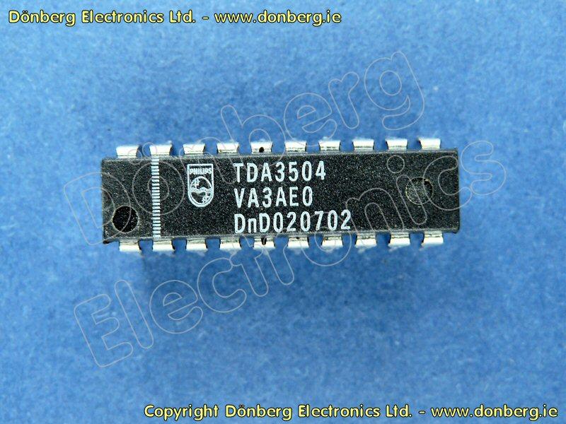 Semiconductor: TDA3504 (TDA 3504) - VIDEO CONTROL ...