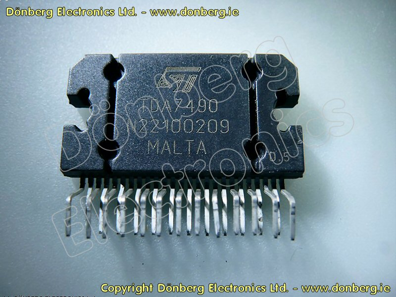 Semiconductor Tda7490 Tda 7490 Ic From D 246 Nberg