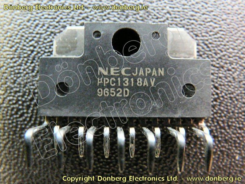 Semiconductor Upc1318av Upc 1318av Power Amplifier